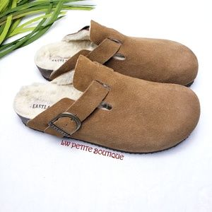 Eastland Suede Clogs